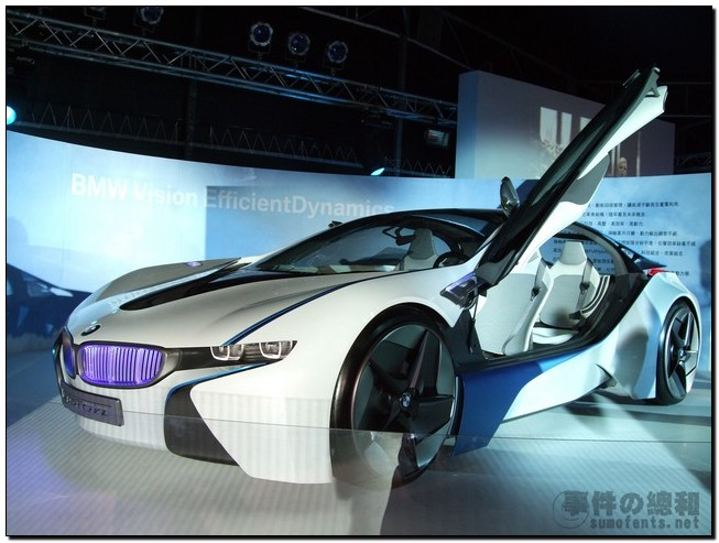 BMW Vision EfficientDynamics 圖7